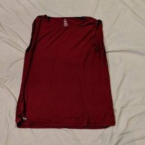 Senita Athletics Red Workout Top